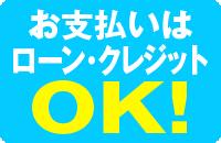 ローン・クレジット支払いOK